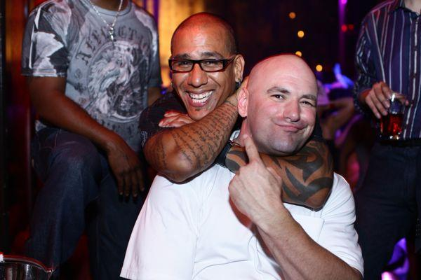 Tom Atencio e Dana White