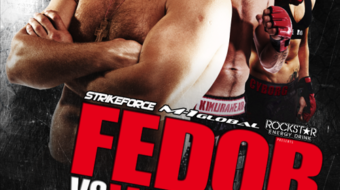 Strikeforce Fedor vs Werdum: Card principal