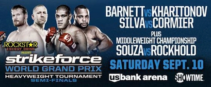 Strikeforce Heavyweight Grand Prix Semifinals