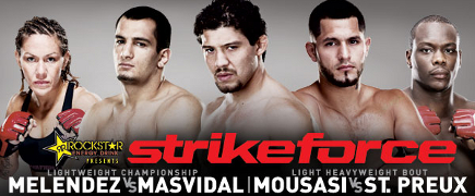 Strikeforce Melendez vs Masvidal: prévia do evento