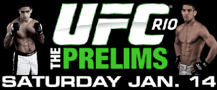 UFC 142: prévia do card preliminar