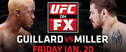 Prévia do UFC On FX 1: Guillard vs Miller