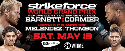 Prévia do Strikeforce Heavyweight Grand Prix Final: Barnett vs Cormier