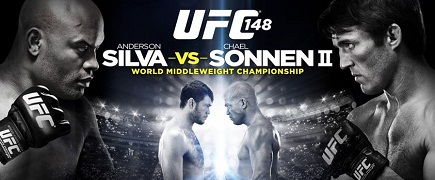 UFC 148 Silva vs Sonnen 2: prévia do card principal