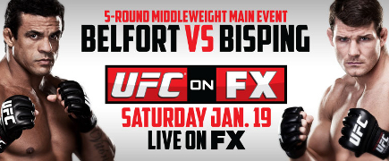 UFC On FX Belfort vs Bisping: prévia do card principal