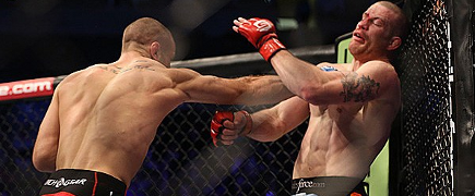 Saffiedine carimba perna de Marquardt e toma o cinturão na despedida do Strikeforce