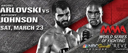 WSOF 2 Arlovski vs Johnson: Prévia do Card Principal