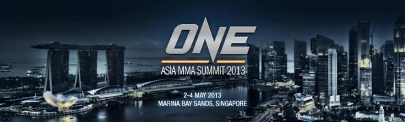 Banner do ONE FC Asia MMA Summit 2013