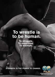 To wrestle is to be human: Lutar é ser humano