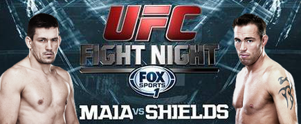 UFC Fight Night Maia vs Shields: Prévia do Card Principal