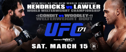 UFC 171 Hendricks vs Lawler: Prévia do Card Principal