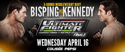 The Ultimate Fighter Nations Finale: Prévia do Card Principal