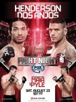 UFC Fight Night 49: Henderson vs Dos Anjos poster