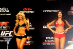 As octagon girls Jhenny Andrade e Camila Oliveira