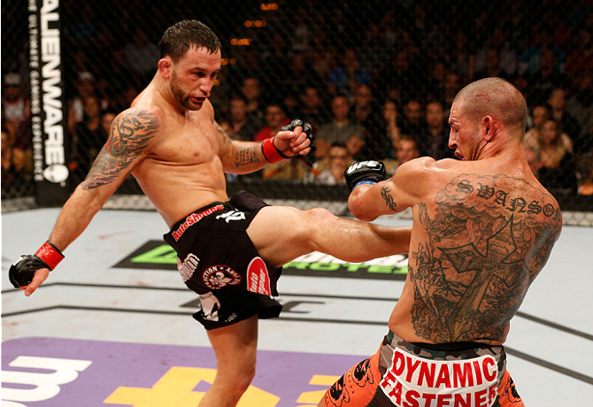 Frankie Edgar atropela Cub Swanson e bate recorde no UFC Fight ...