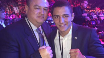 Entrevista exclusiva: Aaron Pico, astro do wrestling e promessa do MMA