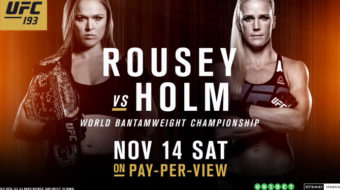 UFC 193: Rousey vs. Holm – Prévia do Card Principal