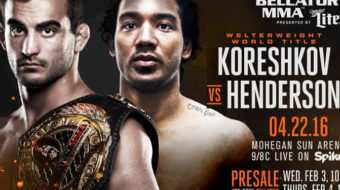 Bellator 153: Koreshkov vs. Henderson – Prévia do Card Principal