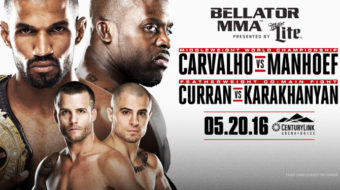 Bellator 155: Carvalho vs. Manhoef – Prévia do Card Principal