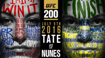 UFC 200: Tate vs. Nunes – Prévia do Card Principal