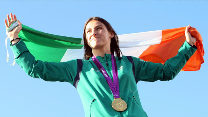 Katie Taylor é a golden girl do boxe olímpico