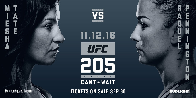 UFC 205 Tate vs. Pennington