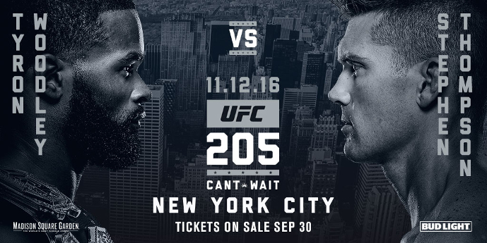 UFC 205 Woodley vs. Thompson