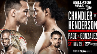 Bellator 165: Chandler vs. Henderson – Prévia do Card Principal