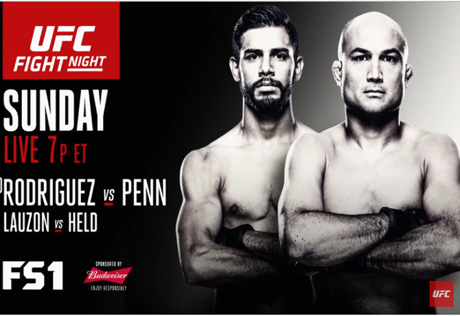 UFC Fight Night 103: Rodríguez vs. Penn – Prévia do Card Principal