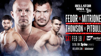 Bellator 172: Fedor vs. Mitrione – Prévia do Card Principal