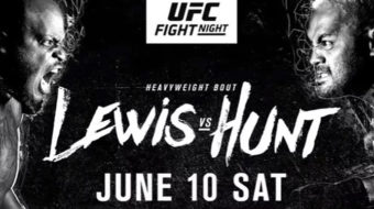 UFC Fight Night 110: Hunt vs. Lewis: Prévia das Principais Lutas