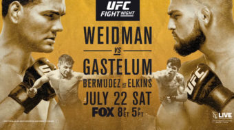 UFC On FOX 25: Weidman vs. Gastelum – Prévia do Card Principal