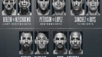 Dana White's Tuesday Night Contender Series 7: Sanchez e Lopez são contratados pelo UFC