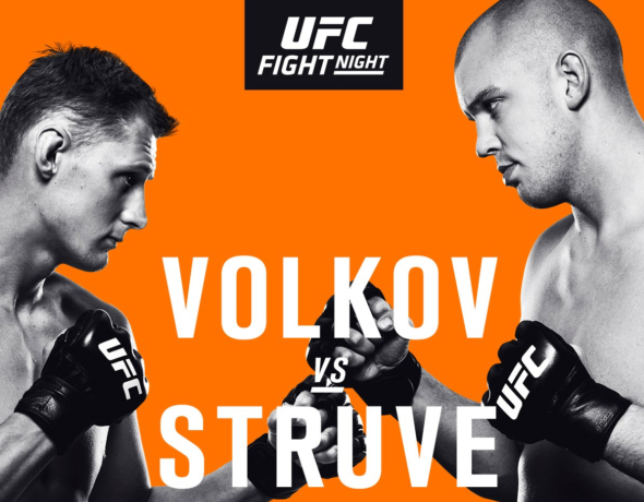 UFC Fight Night 115: Volkov vs. Struve – Prévia do Card Principal