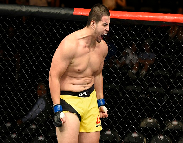 Junior Albini duela com Andrei Arlovski no UFC Fight Night 120