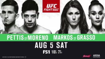 UFC Fight Night 114: Pettis vs. Moreno – Prévia do Card Principal