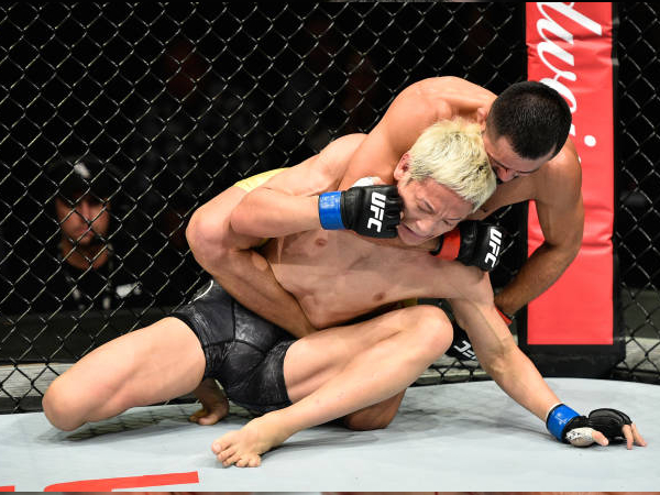 Jussier Formiga finaliza Ulka Sasaki no primeiro round do UFC Fight Night 117