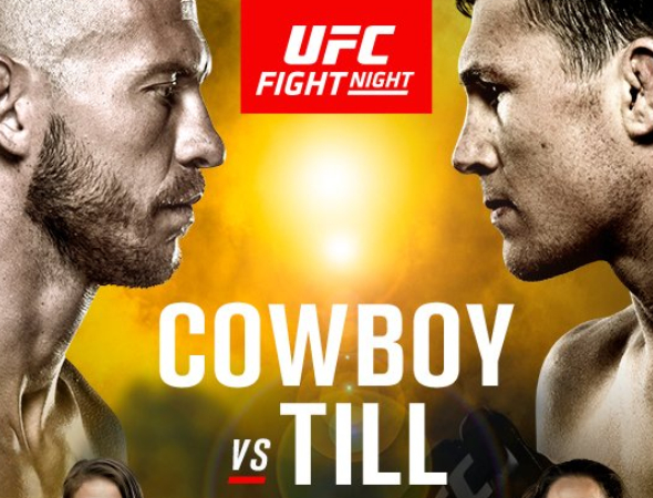 UFC Fight Night 118: Cerrone vs. Till – Prévia do Card Principal