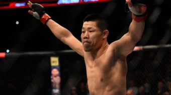 Li Jingliang atropela e nocauteia Zak Ottow no UFC Fight Night 122