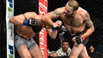 Matt Brown vence Diego Sanchez com cotovelada vândala no UFC Fight Night 120