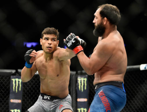 Paulo Borrachinha afunda Johny Hendricks e se mantém invicto no UFC 217