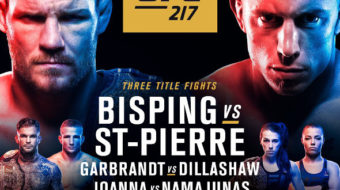 UFC 217: Bisping vs. St. Pierre – Prévia do Card Principal