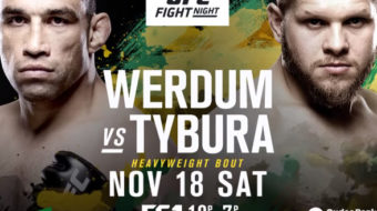 UFC Fight Night 121: Werdum vs. Tybura – Prévia do Card Principal