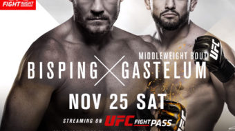UFC Fight Night 122: Bisping vs. Gastelum – Prévia do Card Principal