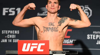 Darren Elkins se recupera e finaliza Michael Johnson no UFC Fight Night 124