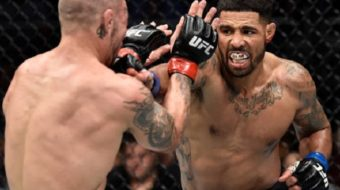Max Griffin controla bem a luta e vence Mike Perry no UFC On Fox 28