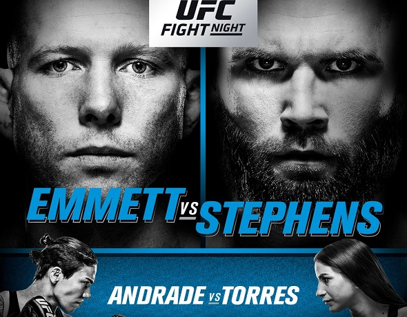 UFC On FOX 28: Emmett vs. Stephens – Prévia do Card Principal