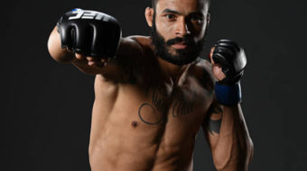 Felipe Silva e Claudio Puelles se enfrentam no UFC Fight Night 129, no Chile