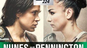 UFC 224: Nunes vs. Pennington – Prévia do Card Principal