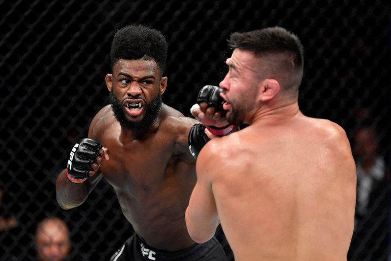 Aljamain Sterling venceu Pedro Munhoz no UFC 238